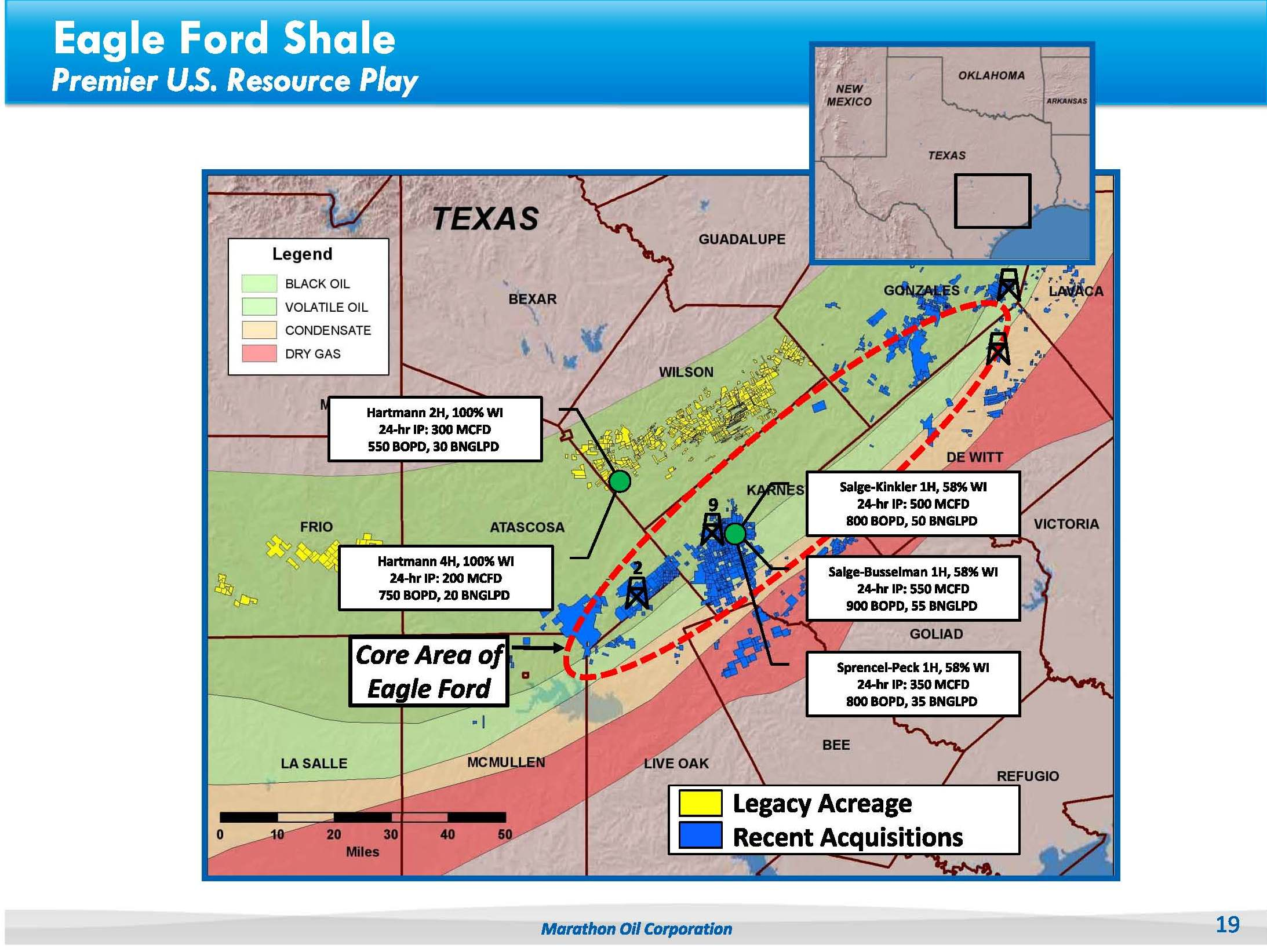 Source: Marathon Oil Presentation
